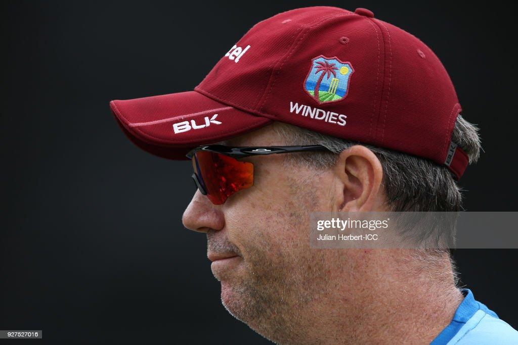 West Indies Training - ICC Cricket World Cup Qualifier