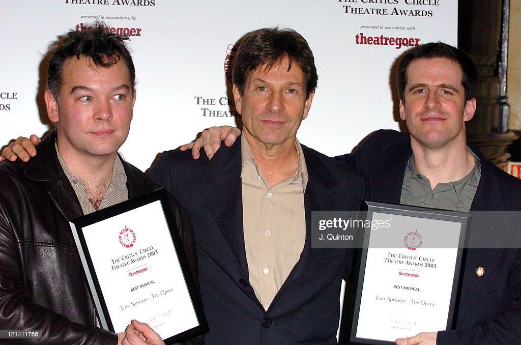 The 2003 Critics Circle Theatre Awards