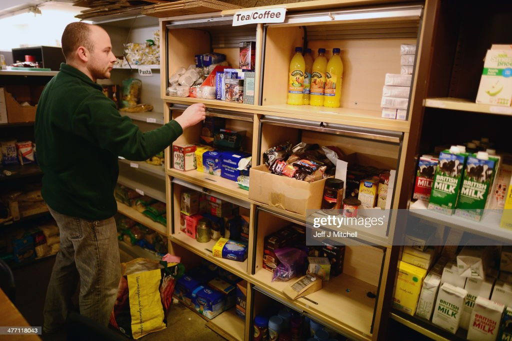 Rising Levels Of Poverty In Scotland : News Photo