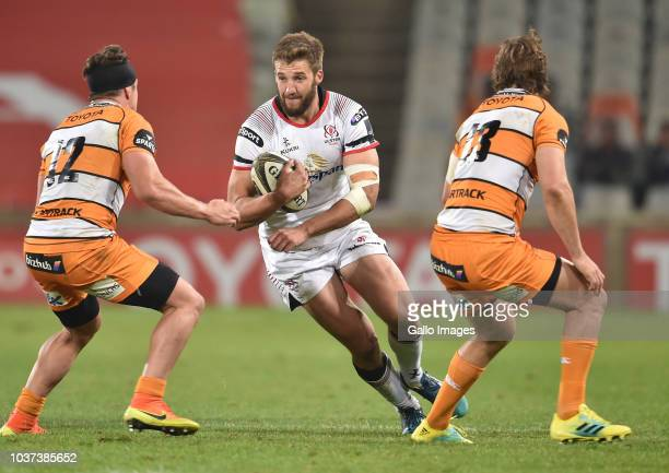 Stuart McCloskey of Ulster during the Guinness Pro14 match between Toyota Cheetahs and Ulster at Toyota Stadium on September 21 2018 in Bloemfontein...