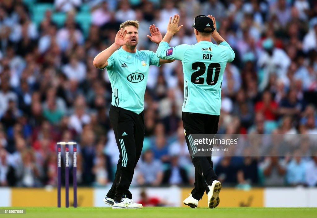 Surrey v Essex Eagles - NatWest T20 Blast