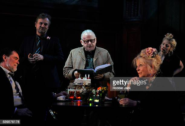 Stuart Milligan as Ted Simon Shepherd as Tom Wallace Shawn as Dick Anna CalderMarshall as Nellie and Sinead Matthews as Jane in the National...