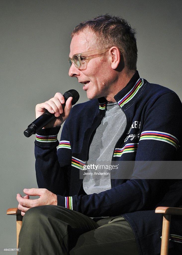 Stuart Murdoch attends Meet the Filmmaker: Stuart Murdoch, 'God Help the Girl' at Apple Store Soho on August 26, 2014 in New York City.