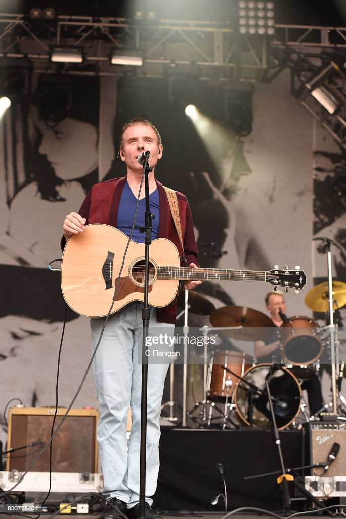 Stuart Murdoch of Belle & Sebastian performs during the 2017 Outside Lands Music and Arts Festival at Golden Gate Park on August 11, 2017 in San Francisco, California.