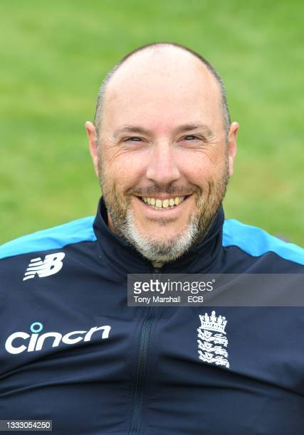 Stuart Murphy of England during the England Disability T20 at New Road on August 08, 2021 in Worcester, England.