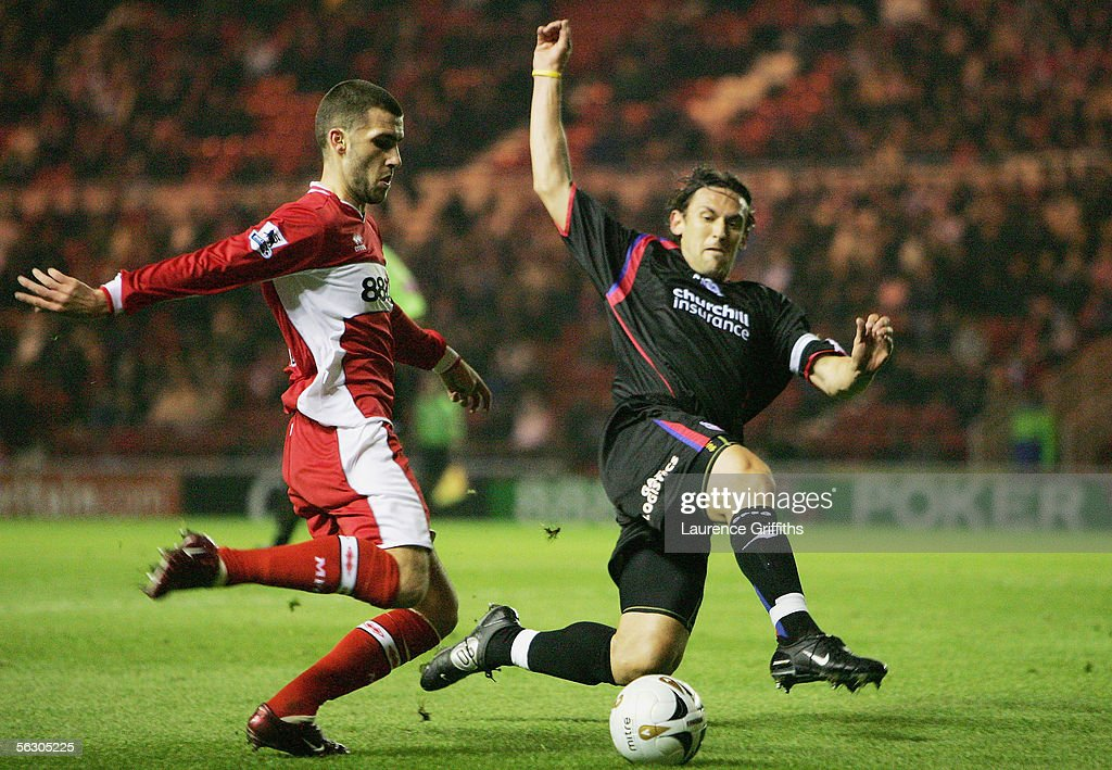 Carling Cup: Middlesbrough v Crystal Palace : News Photo