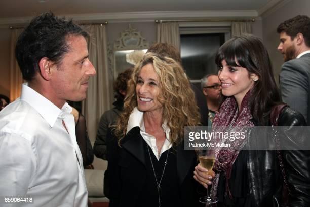 Stuart Parr, Ann Dexter Jones and Tara Mercurio attend Screening of Magnolia Pictures JULIA after party hosted by ALLISON SAROFIM and STUART PARR at...