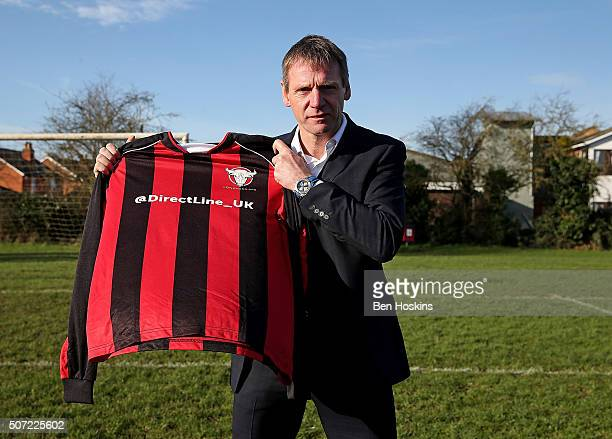 Stuart Pearce is unveiled by Longford AFC manager Nick Dawe after Direct Line stepped in to help fix the fortunes of the team dubbed the worst...