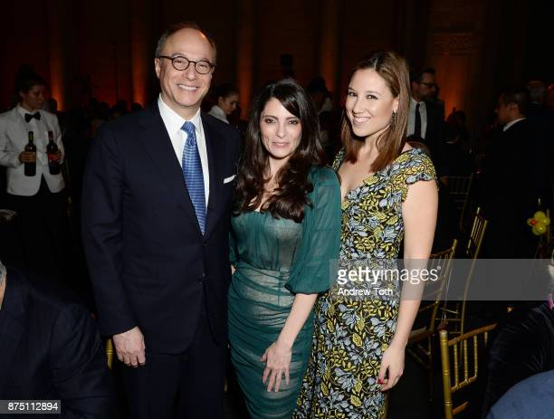 Stuart Rabin Kristin Gervasio and Toby Milstein attend NewYorkPresbyterian Hospital's Amazing Kids Amazing Care dinner at Cipriani 25 Broadway on...