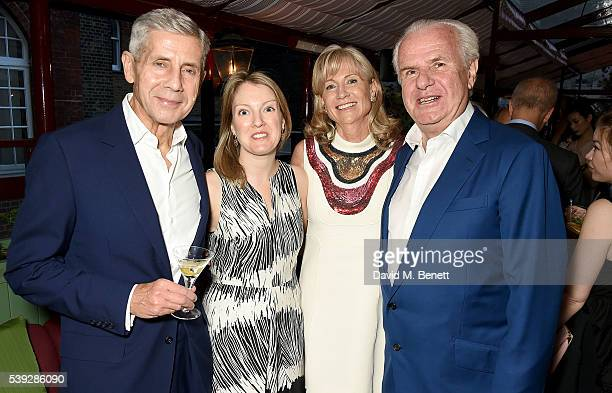 Stuart Rose guest Lady Alison Myners and Lord Paul Myners attend the Fung LCM Dinner at MarkÕs Club on June 10 2016 in London England