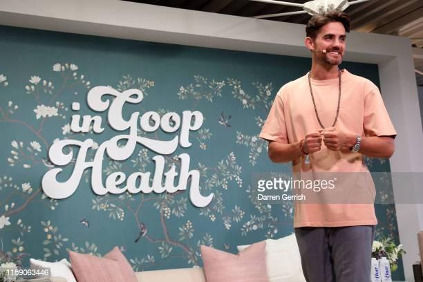 Stuart Sandeman on stage at In goop Health London 2019 on June 29 2019 in London England