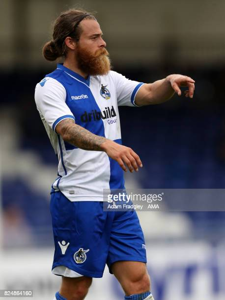 Stuart Sinclair of Bristol Rovers during the Pre Season Friendly match between Bristol Rovers and West Bromwich Albion at Memorial Stadium on July 29...