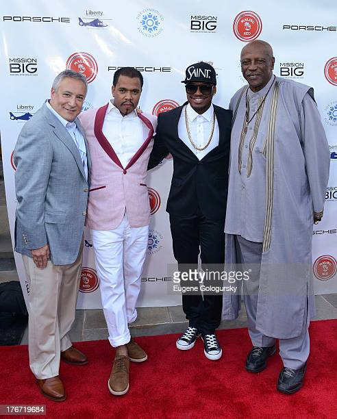 Stuart Snyder Johnny Nunez Ne Yo and Louis Gossett Jr attend the The Compound Foundation 2nd Annual Fostering A Legacy Benefit Hosted By NeYO Mission...