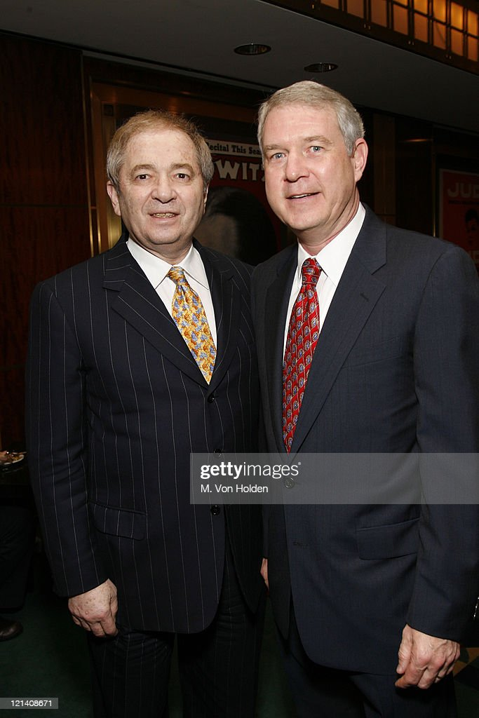 Stuart Subotnick and Tom Carter during The Thelonious Monk Institute of Jazz Special VIP Reception in Advance of 'Herbie's World' to Benefit Monk Institute Jazz Programs at Weill Recital Hall, Carnegie Hall in New York, New York, United States.