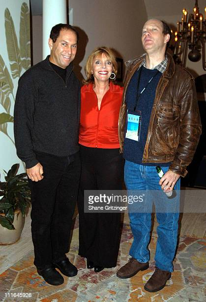 Stuart Suna Judy Licht and Doron Weber during The 11th Annual Hamptons International Film Festival HIFF and Judy Licht Host New Members Reception at...