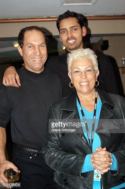 Stuart Suna, Raj Roy and Denise Kasell during The 11th Annual Hamptons International Film Festival - Closing Reception at Bamboo in East Hampton, New...