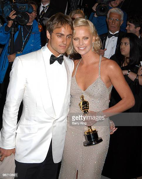 Stuart Townsend and Charlize Theron
