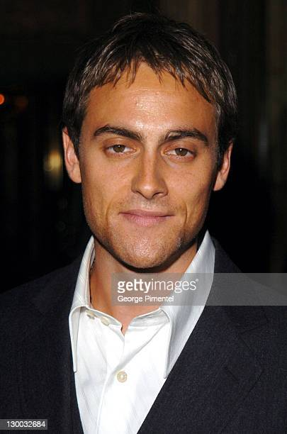 Stuart Townsend during 2004 Toronto International FIlm Festival 'Head in the Clouds' Premiere at Elgin Theatre in Toronto Ontario Canada