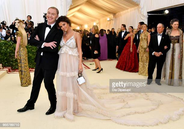 Stuart Vevers and Selena Gomez attend the Heavenly Bodies Fashion The Catholic Imagination Costume Institute Gala at The Metropolitan Museum of Art...