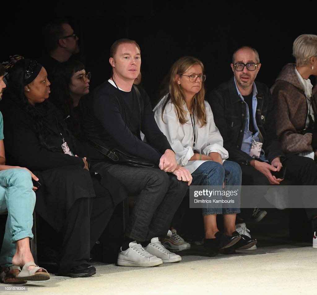 Coach 1941 - Front Row - September 2018 - New York Fashion Week : ニュース写真