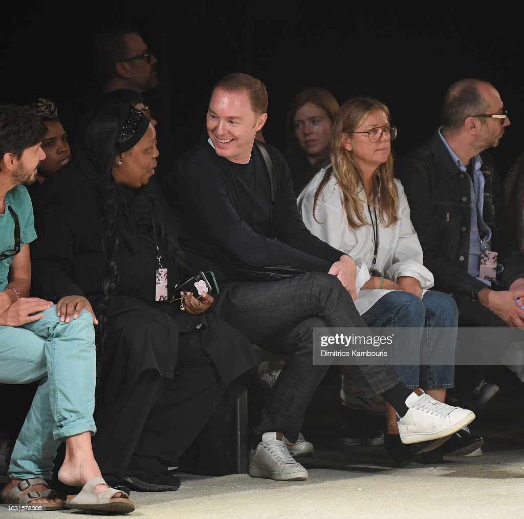 Stuart Vevers attends the Coach 1941 front Row during New York Fashion Week at Pier 94 on September 11, 2018 in New York City.