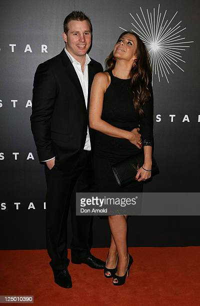 Stuart Webb and Kate Ritchie arrive at the opening of The Star formerly Star City in Pyrmont on September 15 2011 in Sydney Australia The...