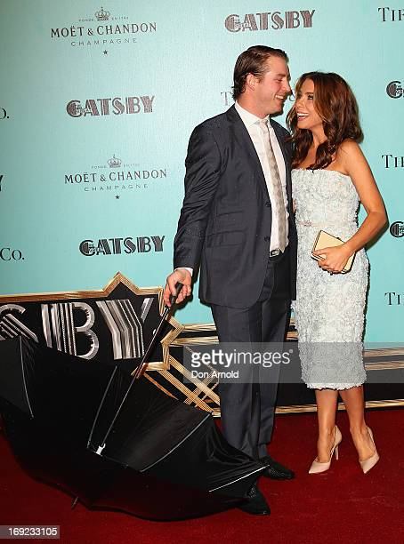 Stuart Webb and Kate Ritchie arrive for the Sydney premiere of 'The Great Gatsby' at The Entertainment Quarter on May 22, 2013 in Sydney, Australia.
