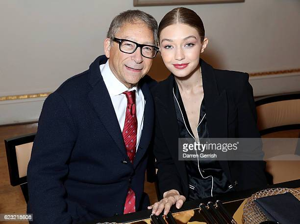 Stuart Weitzman and Gigi Hadid host a private dinner to celebrate the opening of the Stuart Weitzman London Flagship Store at the Royal Academy of...