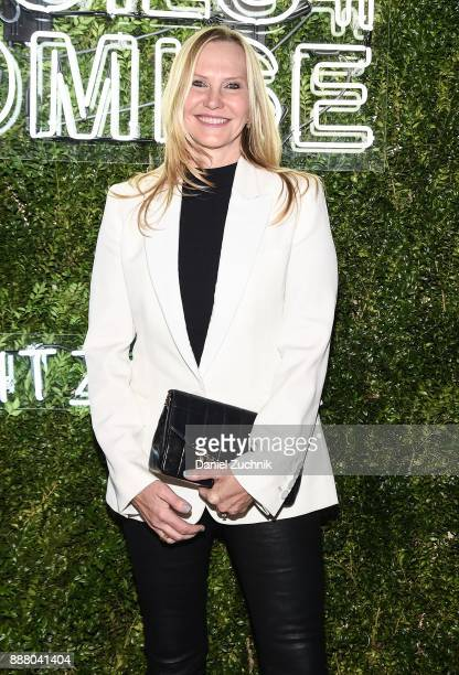 Stuart Weitzman CMO Susan Duffy attends the 2017 Pencils of Promise Gala at Central Park on December 7 2017 in New York City