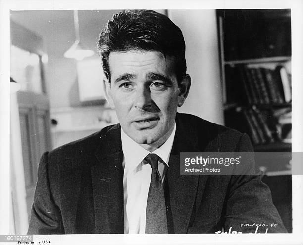 Stuart Whitman in a scene from the film 'Shock Treatment' 1964
