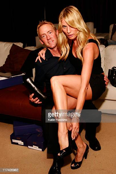 Stuart Wietzman Rep with Nicollette Sheridan during The Mark Kearney Group and Vivian Turner Styles 'Iced Out' Luxury Suite Day 1 at Private Estate...
