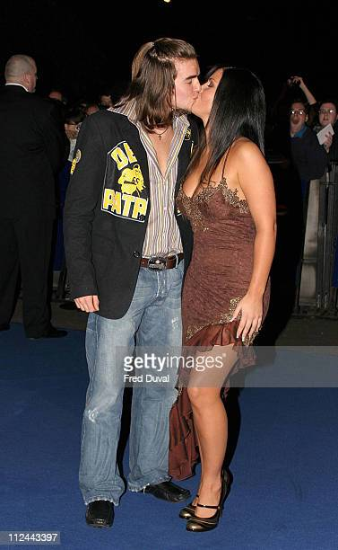 Stuart Wilson and Michelle Bass during 10th Annual National Television Awards Arrivals at Royal Albert Hall in London Great Britain