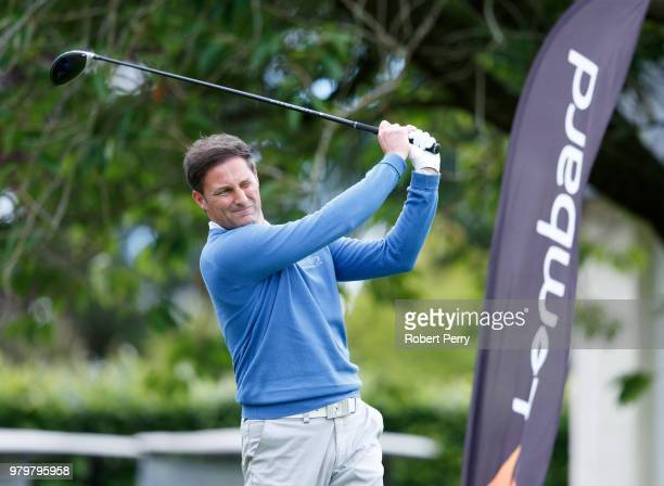 Stuart Wilson during the Lombard Trophy Scottish Qualifier at Rosemount Course Blairgowrie Golf Club on June 20 2018 in Perth Scotland