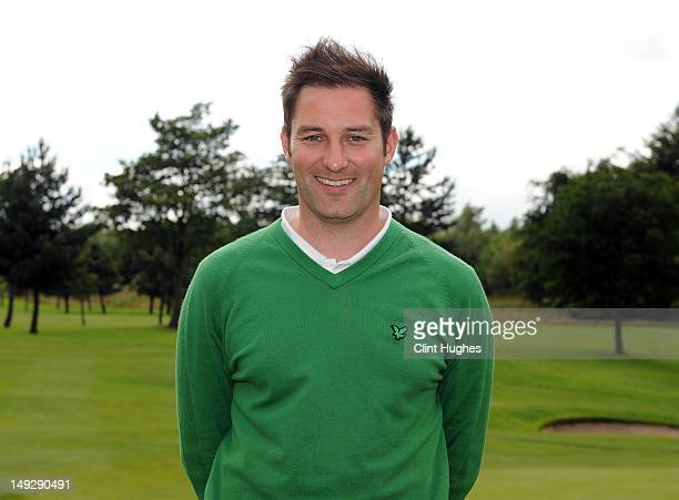 Stuart Wilson of Eastwood Golf Club poses for a photo after winning the Virgin Atlantic PGA National ProAm Championship Regional Final at Haggs...