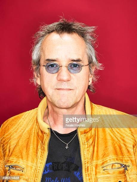 Stuart Wood of the pop band the Bay City Rollers are photographed for the for Daily Mail on September 24 2015 in London England