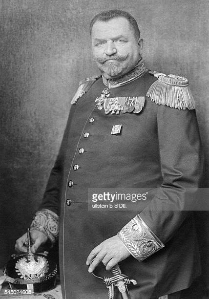 Stubenrauch, Ernst von - Poltician, D*19.07.1853-+Originator of the Teltow CanalDistrict Administrator and the Police President of BerlinPortrait in...