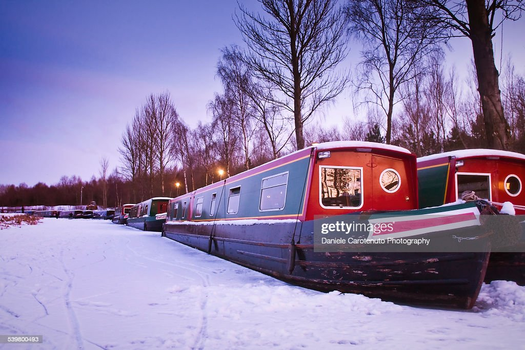 Stuck in the ice : Stock Photo