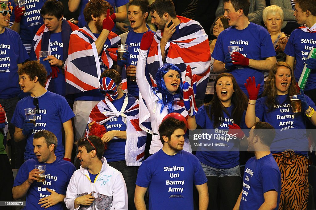 Great Britain v Slovak Republic - Davis Cup Day One : News Photo