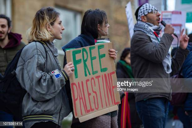 Student activists at Leeds University protest on the UN Solidarity Day with Palestine The National Day of Action was organised by the Palestine...
