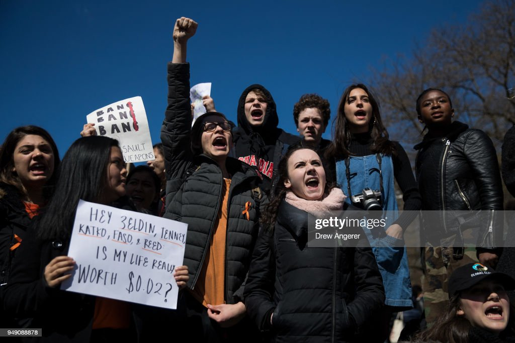 Students around the Nation Rally against Gun Violence