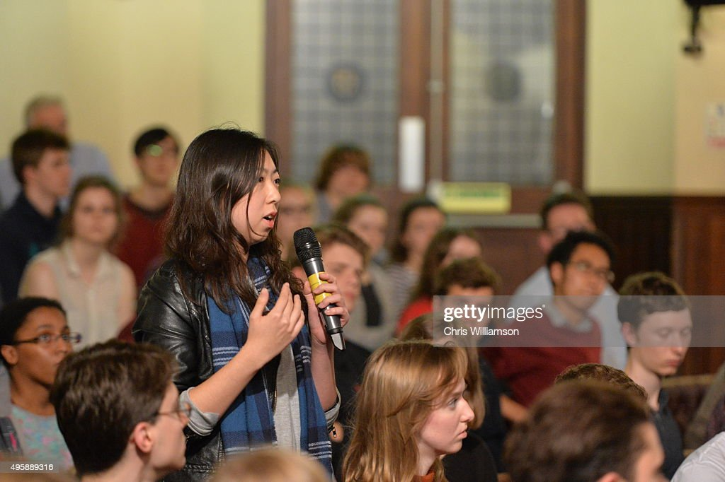 Cambridge Union Debates This House Believes The American Dream Is Colour Blind : News Photo