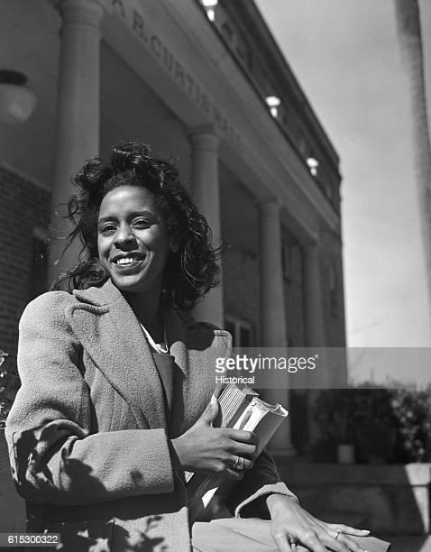 A student at BethuneCookman College Daytona Beach Florida February 1943