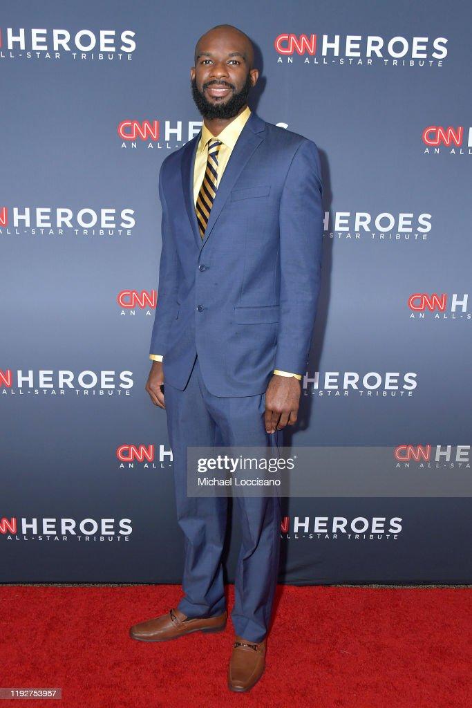 CNN Heroes - Red Carpet : News Photo