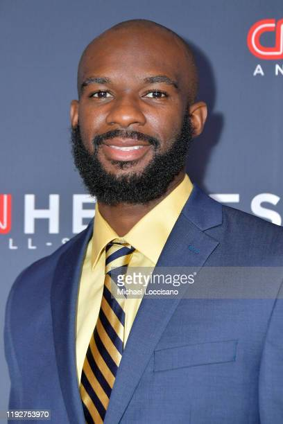Student Athlete Nathan Bain attends CNN Heroes at American Museum of Natural History on December 08, 2019 in New York City.