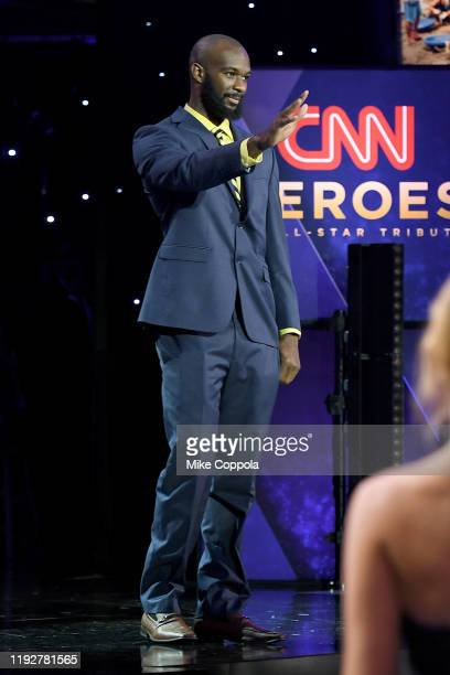 Student Athlete Nathan Bain attends CNN Heroes at American Museum of Natural History on December 08 2019 in New York City