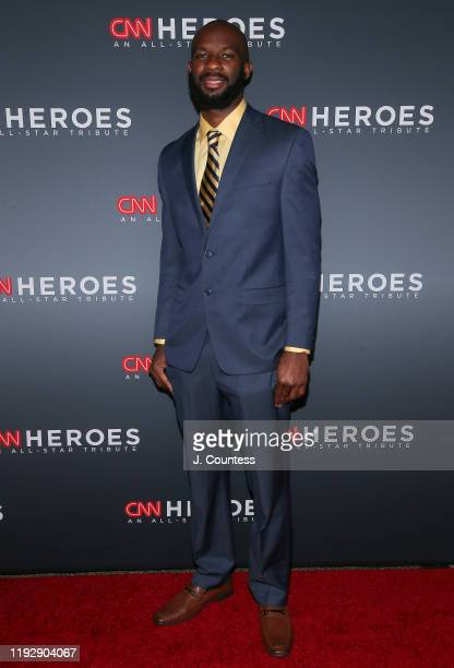 Student Athlete Nathan Bain attends the 13th Annual CNN Heroes at the American Museum of Natural History on December 08 2019 in New York City