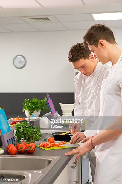 Student Chef Learning with Instructor
