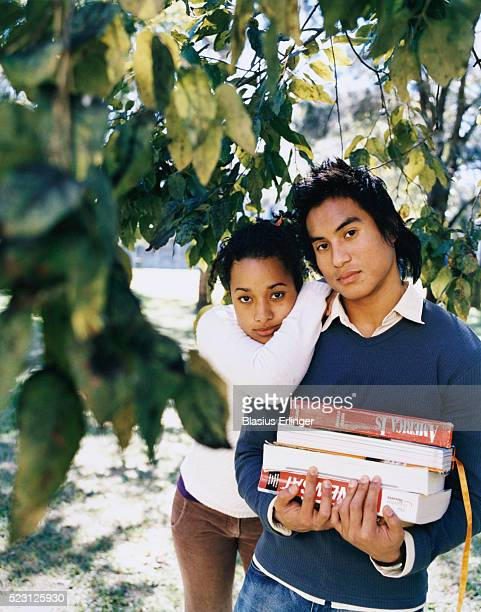 student couple - blasius erlinger stock pictures, royalty-free photos & images