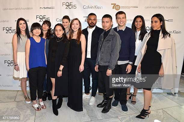 Student Designers attend The Fashion Institute Of Technology's Future Of Fashion Runway Show hosted by Nicole Richie at The Fashion Institute of...