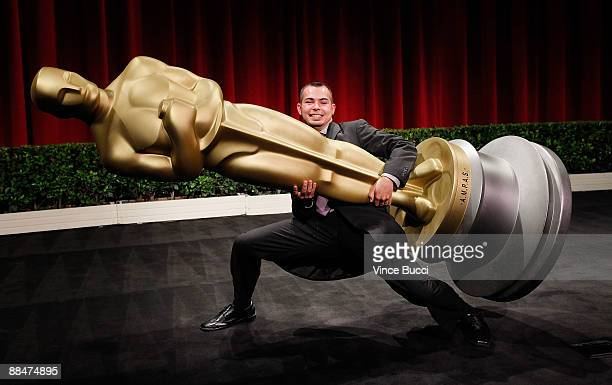 Student filmmaker Joaquin Baldwin from UCLA poses prior to the 36th Annual Student Academy Awards at The Motion Picture Academy on June 13 2009 in...